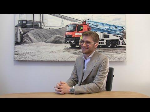 Lars Jacobson, Sommarjobb 2016 -. Thomas Concrete Group. Vad hände sen?  |  Del 1