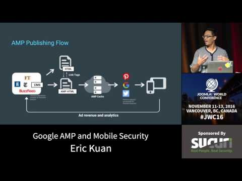 JWC 2016 - Google AMP and Mobile Security - Eric Kuan