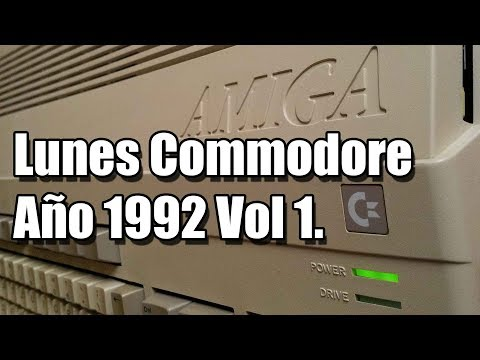 Lunes Commodore: Especial 1992 Volumen 1
