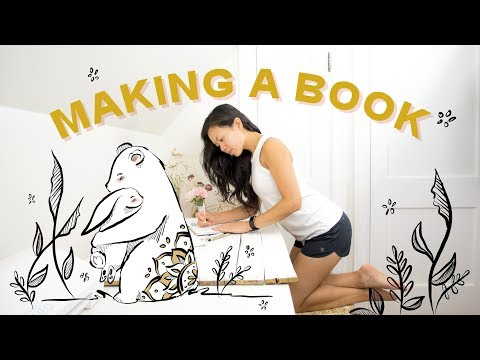 Making a Book (ft. The Bunny and Bear!) | Announcement*