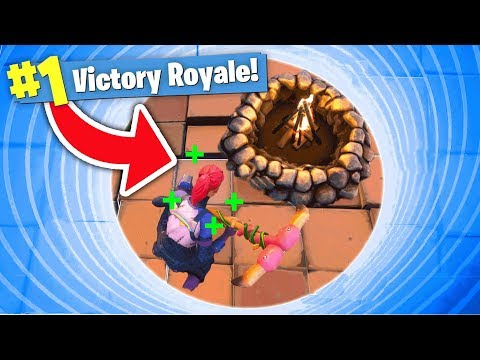 SMALLEST CIRCLE + COZY CAMPFIRE = INVINCIBLITY in Fortnite Battle Royale!