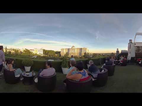Royal Palace in Madrid in 360º 4K #SpainIn10sec