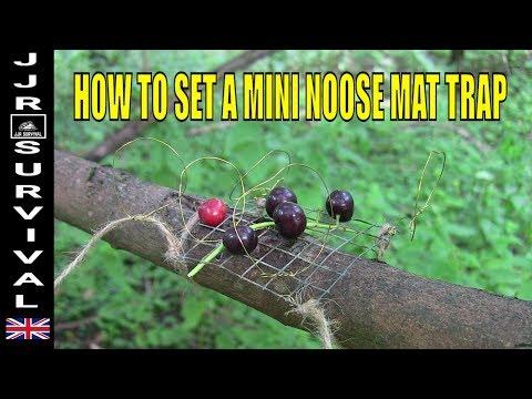 How To Set A Mini Noose Mat Trap