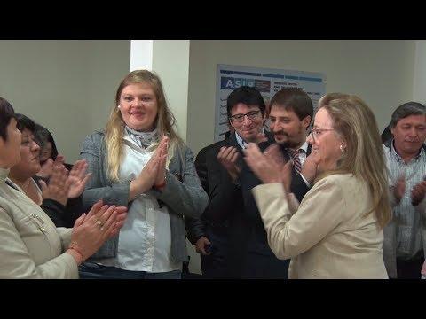 Alicia felicitó y agradeció a lxs trabajadorxs de ASIP