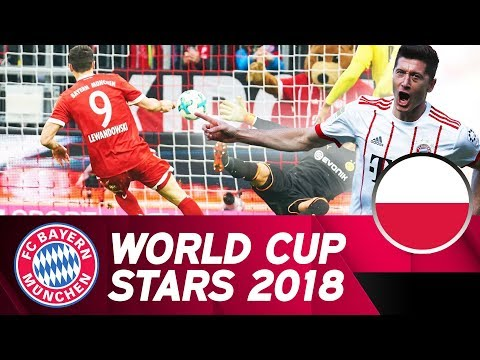 Robert Lewandowski: Poland's World Cup Hope | FC Bayern in Russia