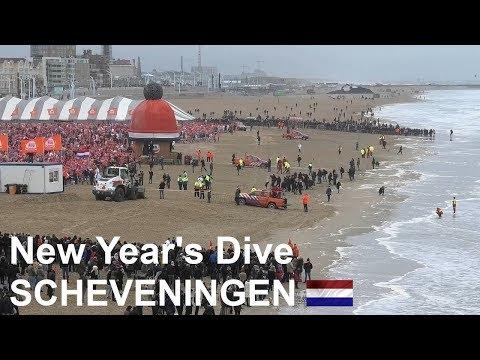 HOLLAND: Scheveningen New Year's Dive 2019 (
