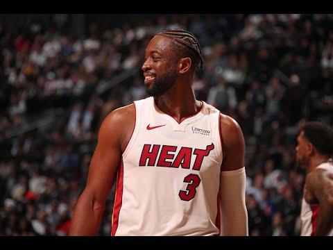 Dwyane Wade's Final Game of NBA Career