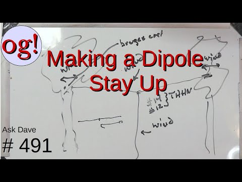 Making a Dipole Stay Up (#491)