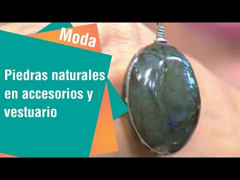 Piedras naturales en accesorios y vestuario | Moda