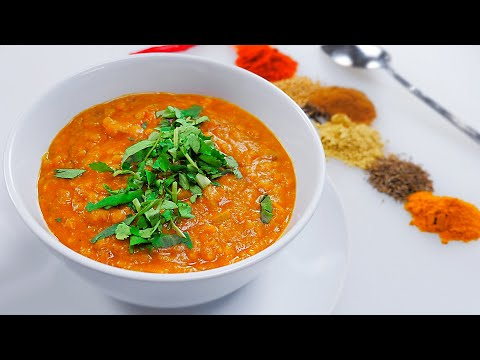 Бомбический индийский суп Дал   Готовится 30 минут