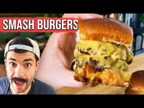 How To Make The Perfect Memorial Day Smash Burger ? Tasty