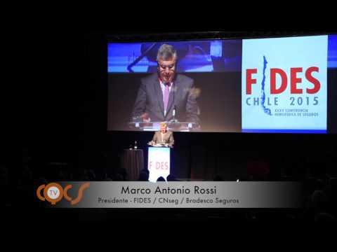 Imagem post: Discurso de Marco Antonio Rossi – 35ª Conferência Hemisférica de Seguros da FIDES