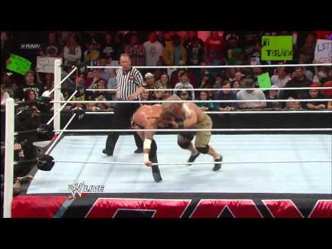Raw John Cena vs CM Punk  pwcorecom