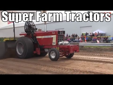 Super Farm Tractor Class From WMP At Kent City MI 2018