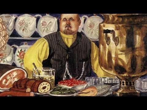 Великие художники и их картины. Русский художник Борис Кустодиев. photo