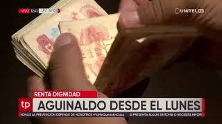 La presidenta Áñez entregó ayuda en Santa Cruz y confirmó el pago del aguinaldo de la renta dignidad