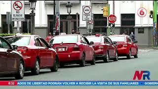 Taxistas iniciarán protesta en contra de la presunta legalización de aplicaciones de transporte