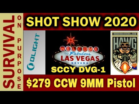 $279 9MM Pistol! The SCCY DVG1 - Cheap Concealed Carry That Doesn't Suck