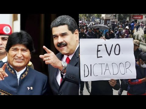 DICTADURA CONFIRMADA EN BOLIVIA