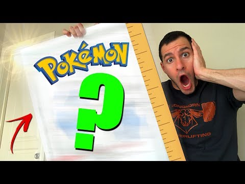 connectYoutube - MY OWN MASSIVE POKEMON CARD! - Opening Pokemon Packs and SURPRISES! - Letters For Leonhart