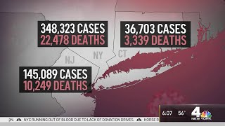 NYPD Continues To Enforce Social Distancing At Parks, Beaches | NBC New York Coronavirus Update