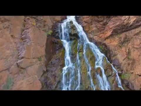 Ogden Canyon Waterfall by Drone