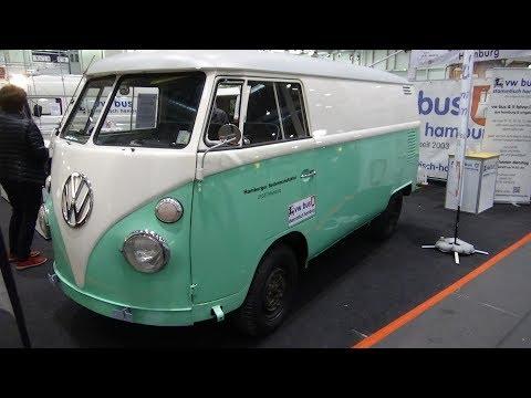 1950 - 1957 Volkswagen T1 Kastenwagen - Exterior and Interior - Hamburg Motor Classics 2017