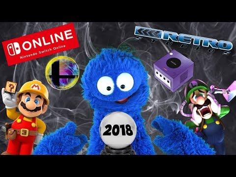 connectYoutube - Let's Predict Nintendo's 2018!