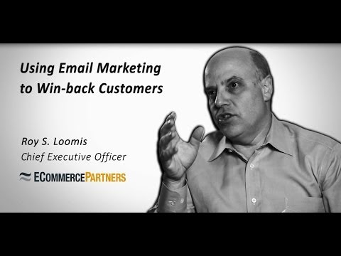 Using Email Marketing to Win-back Customers