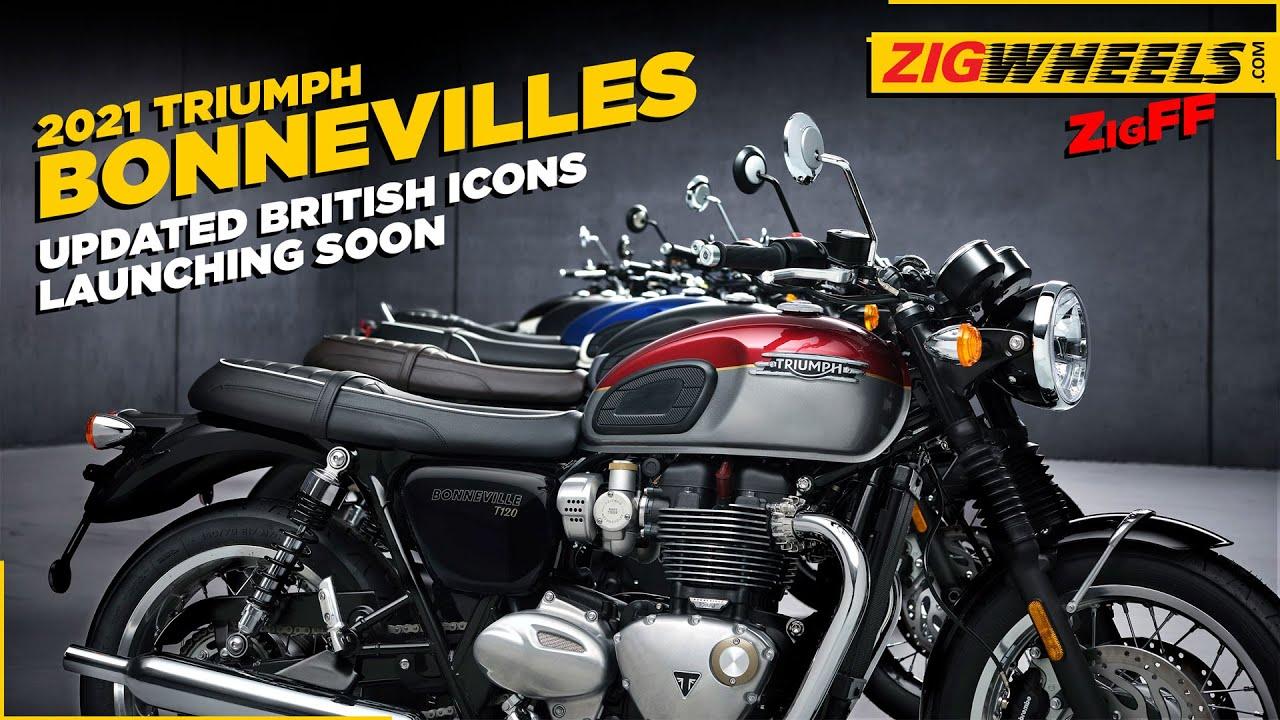 2021 Triumph Bonneville Range: Street Twin, T100, T120 & More | Brit Icons get Small Updates
