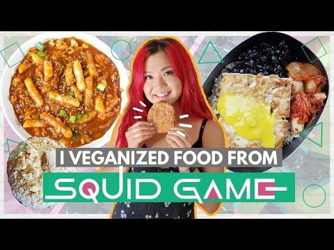 Making Food from SQUID GAME?VEGAN!