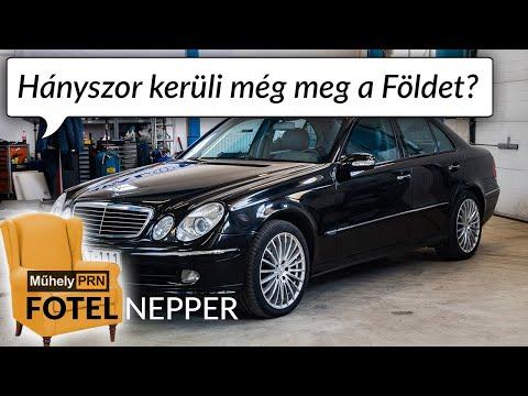 Fotelnepper: Dízel V6, kamionnyi erővel – Mercedes E320 CDI