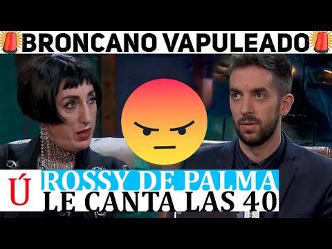 ¡Brutal! Los zascas de Rossy de Palma a Brocano en La Resistencia que no vio venir