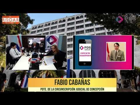 Entrevista- Fabio Cabañas Pdte. de la Circunscripción Judicial de Concepción