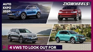 4 New Volkswagen Cars To Look Out For @ Auto Expo 2020 | ZigWheels.com