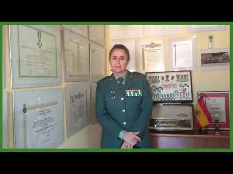 Manuela Simón, Cabo 1º de la Guardia Civil, 175 Aniversario de la Cartilla del Guardia Civil