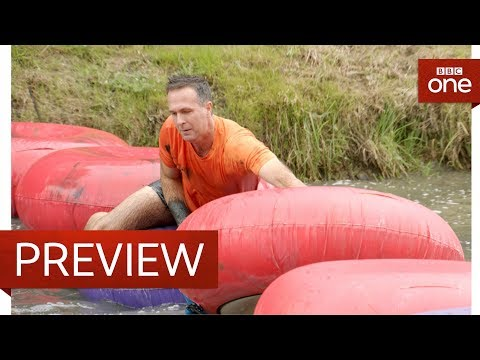 connectYoutube - Michael Vaughan takes on the Donuts - And They're Off for Sport Relief - BBC One