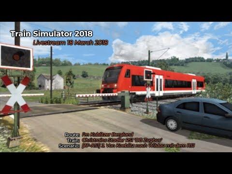 TPRS1 3 Von Koeblitz nach Wildau mit dem RS1 Livestream 18032018