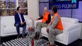 Autoridades del Viceministro de Defensa Civil informan Plan Nacional de Prevención para Emergencias