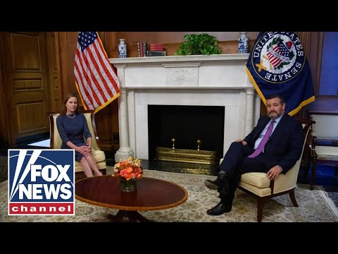Ted Cruz meets with Amy Coney Barrett ahead of confirmation hearing