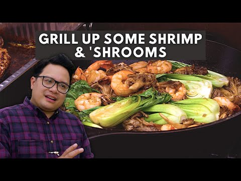 Grill Up Some Shrimp & 'Shrooms This Weekend
