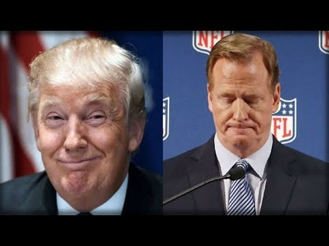 RIGHT AFTER ROGER GOODELL CAVED, TRUMP DID SOMETHING TOTALLY UNEXPECTED FOR THE NFL