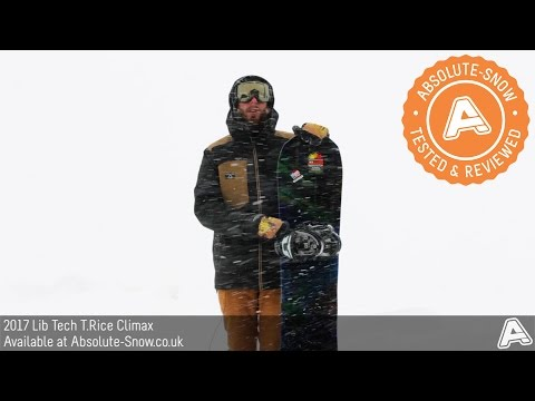 2016 / 2017 | Lib Tech T.Rice Climax Snowboard | Video Review