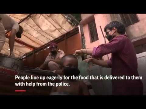 <p>Sikh Gurudwara kitchens feed millions New Delhi's masses in Corona lockdown. May 2020</p>