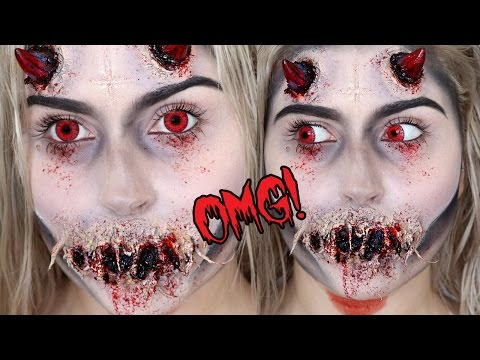 Possessed Demon or Devil SFX! ? Halloween Makeup Tutorial