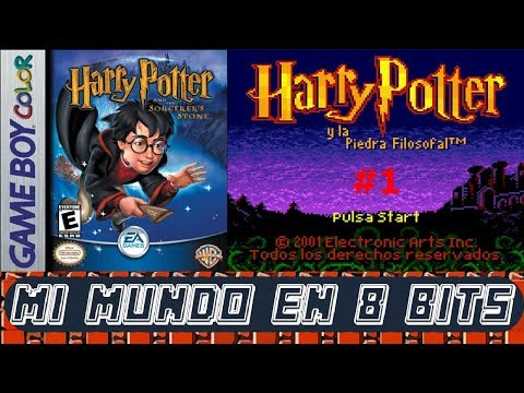 HARRY POTTER Y LA PIEDRA FILOSOFAL - GAME BOY COLOR - GAMEPLAY ESPAÑOL - EP.1