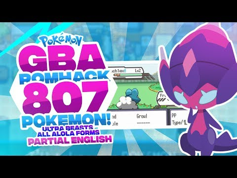 connectYoutube - NEW COMPLETED POKEMON GBA ROM - 807 POKEMON, ALL ULTRA BEASTS, GEN 7, MEGA EVOLUTION, ALOLA FORMS!