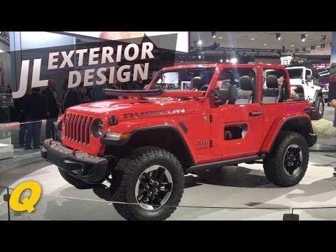 2018 Jeep Wrangler JL Exterior Design interview with Mark Allen