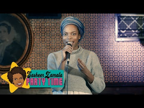 Sasheer's Problem With Resting Bitch Face | Sasheer Zamata Party Time!