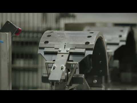 BPW Bremsbackenfertigung im Werk Brüchermühle